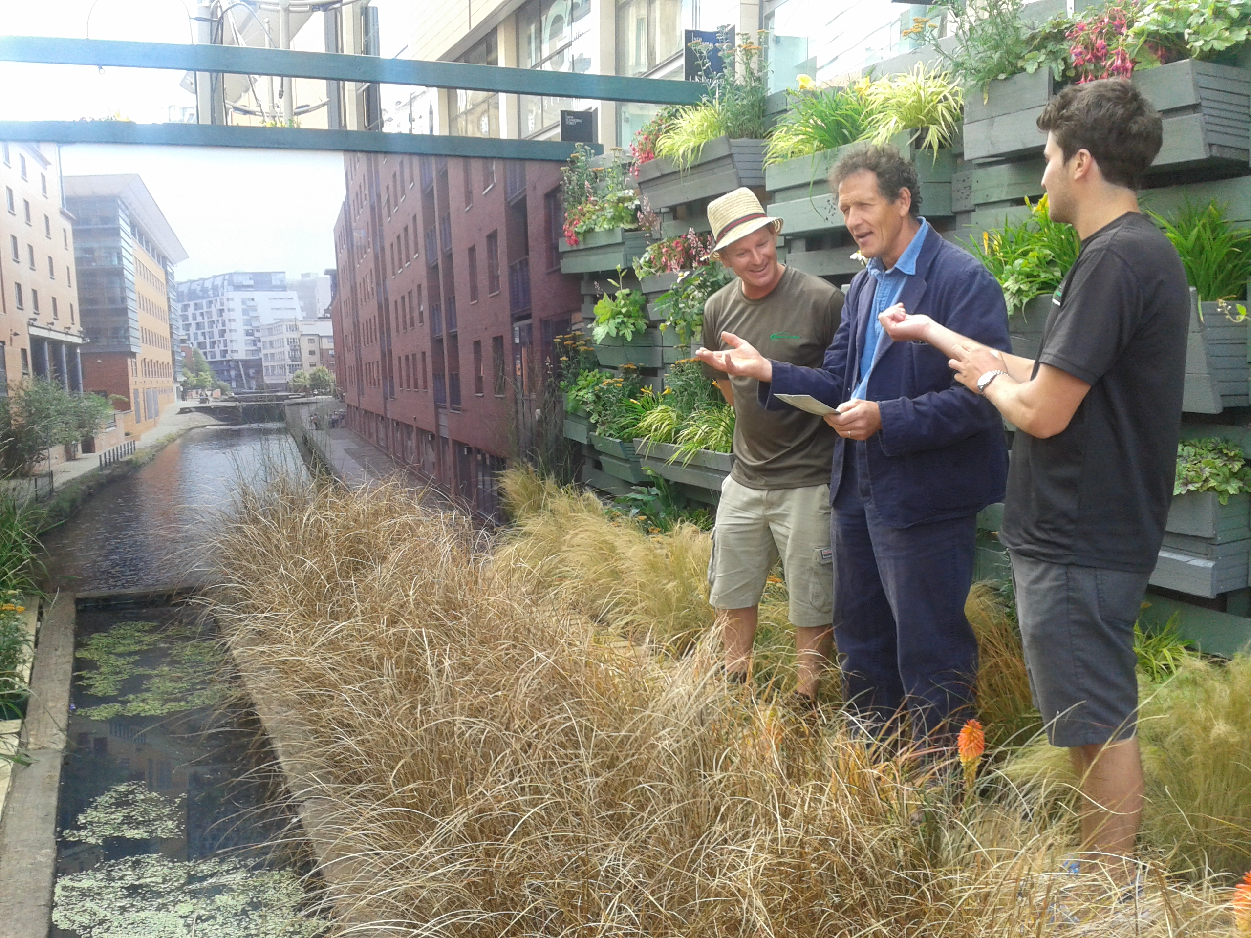 Dan & Monty Don at Dig the City 2015