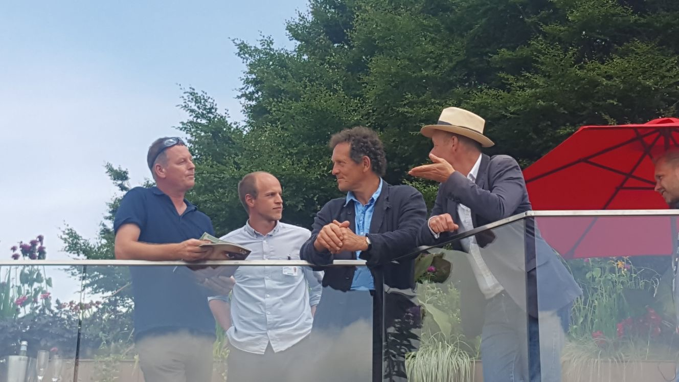 Dan and Martin chat with Monty Don and Joe Swift