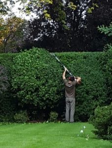 Keeping hedges in trim can be time-consuming