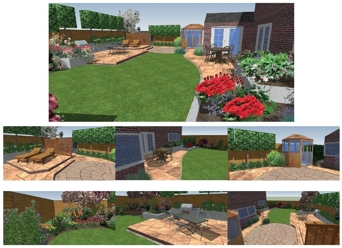 Domestic garden designs dreamscape gardens landscaping for Domestic garden ideas