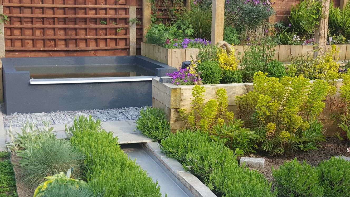 Suburban Garden Dreamscape Gardens Landscaping And Garden Design In Manchester Cheshire