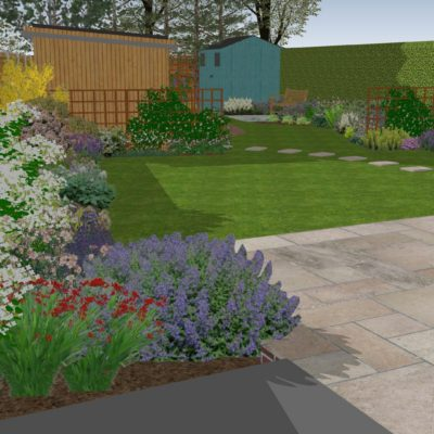 Complete garden renovation, THE HEATONS