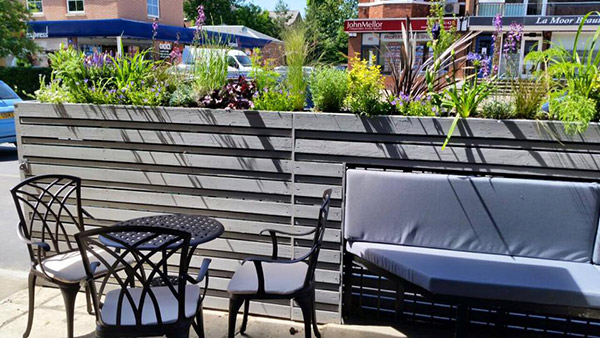 outdoor seating dreamscape