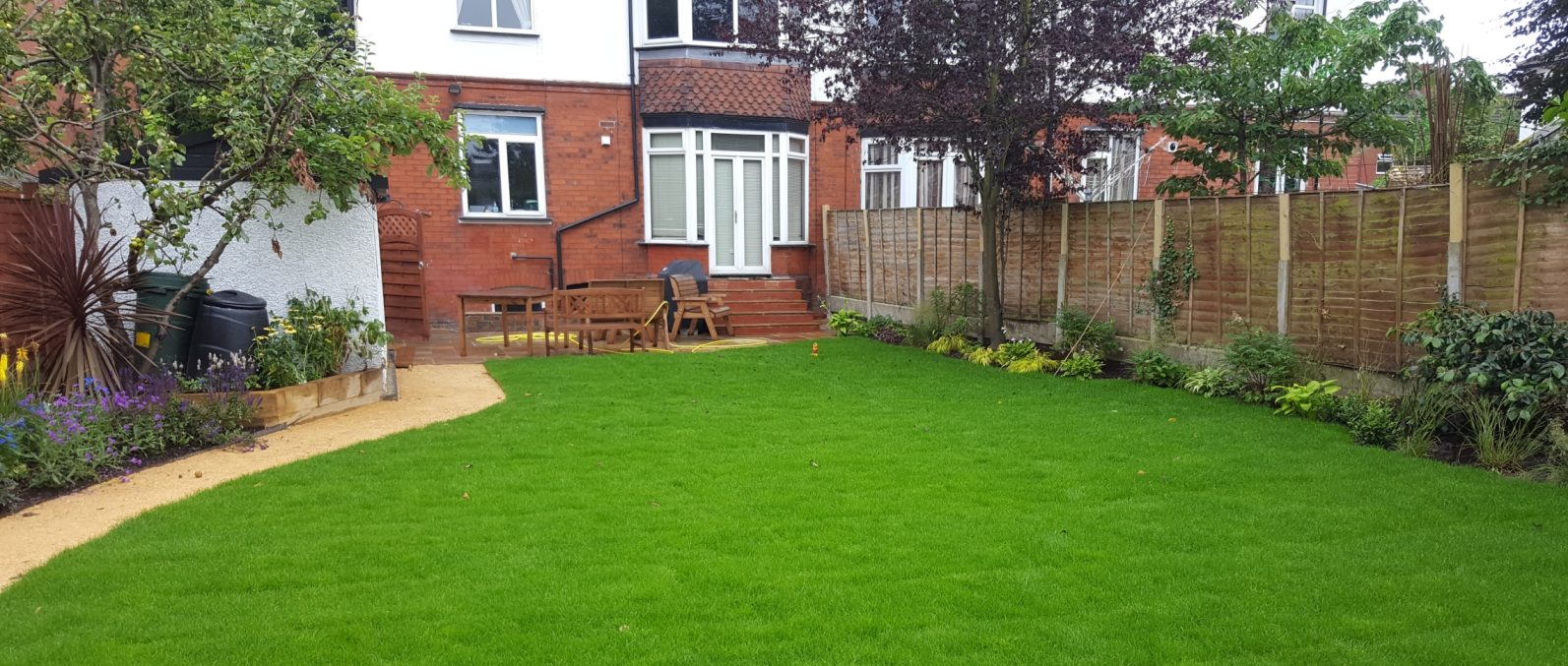 Lawn care and turf laying service